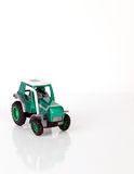 Toy tractor Stock Image
