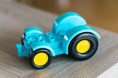 Toy tractor Royalty Free Stock Photography
