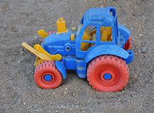 Toy - tractor Royalty Free Stock Image