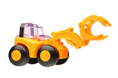 Toy tractor Royalty Free Stock Image