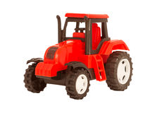 Toy tractor Royalty Free Stock Photos