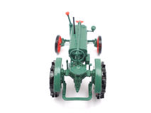 Toy tractor Royalty Free Stock Photo