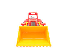 Toy tractor Stock Photos
