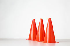 Toy traffic cone Royalty Free Stock Photography