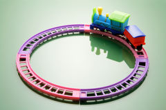 Toy Train Royalty Free Stock Photo