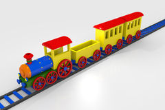 Toy train Royalty Free Stock Photos