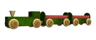 Toy Train Royaltyfria Foton