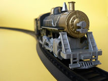 Toy train. Replica old toy train locomotive Royalty Free Stock Photography