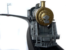 Toy train. Model Of An Old Fashioned Locomotive Steam Train Stock Photo