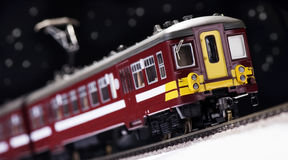 Toy Train And Railroad Stock Photography