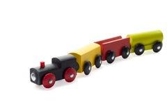 Toy Train en bois Photographie stock