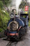 Toy Train in India. 30th May 2011,Ghoom,Darjeeling,West Bengal,India,Asia- The Darjeeling Himalayan Railway, nicknamed the Toy Train, is a 2 ft (610 mm) narrow Stock Images