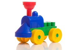 Toy train isolated Stock Photos