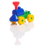 Toy train isolated. On white Royalty Free Stock Image