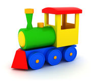 Toy train Stock Photo