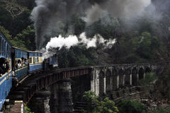 Toy train in Nilgiri mountains Stock Photography