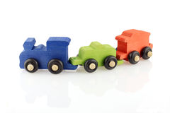 Toy train RGB Royalty Free Stock Photos