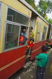 Toy train Shimla Royalty Free Stock Photos