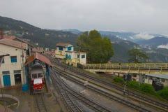 Toy train Shimla Stock Photo