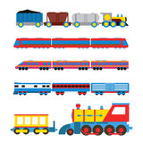 Toy train vector illustration. Stock Image