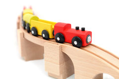 Toy train  on white background Stock Image
