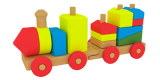 Toy train Stock Images