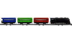 Toy Trains Royalty Free Stock Image