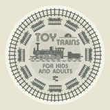 Toy Trains design Royalty Free Stock Photo