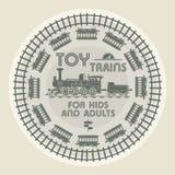 Toy Trains design Royalty Free Stock Photo