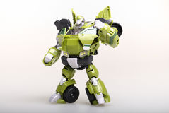 Toy transformer robot Royalty Free Stock Photos