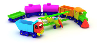 Toy transport Stock Photo