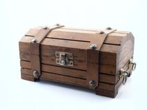 Toy Treasure Chest Royalty Free Stock Photo