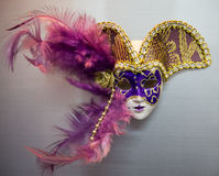 Toy Triangel Mask Fotografie Stock