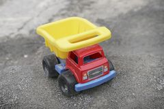 Toy truck Stock Image