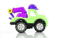 Toy truck Royalty Free Stock Photos