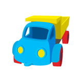 Toy truck cartoon icon Stock Photos