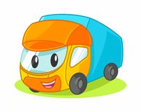 Toy Truck Cartoon Vector Illustration Photo libre de droits