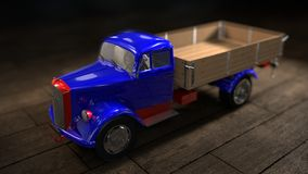 Toy Truck Royalty Free Stock Photo