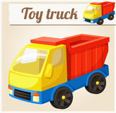 Toy Truck Illustration de vecteur de dessin animé Photo libre de droits