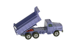 The toy truck Royalty Free Stock Images