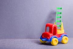 Toy Truck Speelgoed voor illustratie children Stock Fotografie