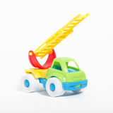 Toy truck  on white background Stock Image