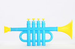 Toy trumpet Royalty Free Stock Photography