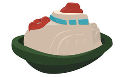 Toy Tugboat Royalty Free Stock Images