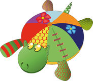 Toy turtle Stock Image
