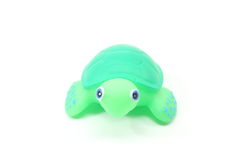 Toy Turtle Looking at you. Toy turtle looking at you on a white background Stock Photos
