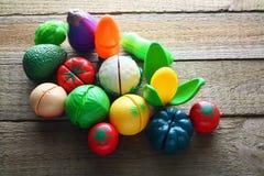 Toy Vegetables Royalty-vrije Stock Foto