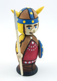 Toy Viking Stock Photo