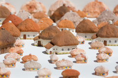 Toy village Royalty Free Stock Images