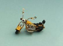 A toy vintage motorbike Stock Image